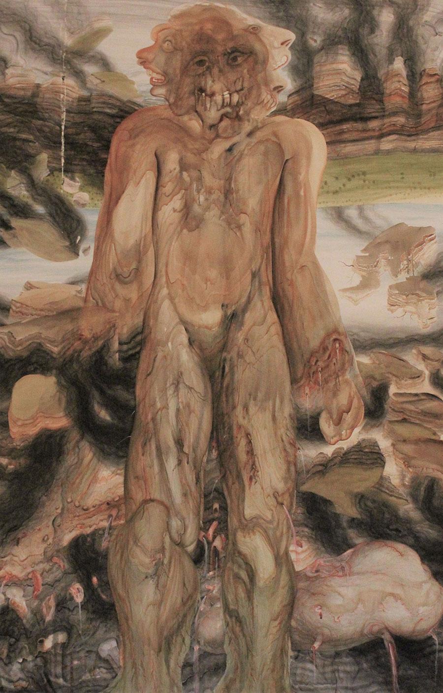 Anton Lehmden Biographie und Ausstellungen