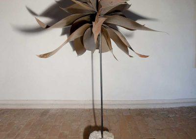 Vogelflug (Objekt aus Eisenblech)