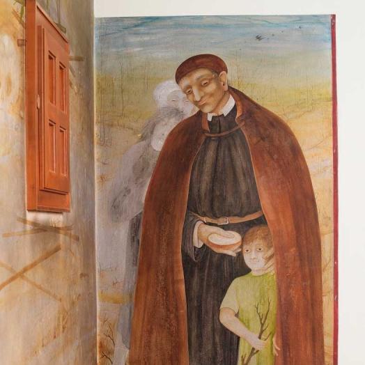 Vinzenzkapelle,  Fresko Anton Lehmden